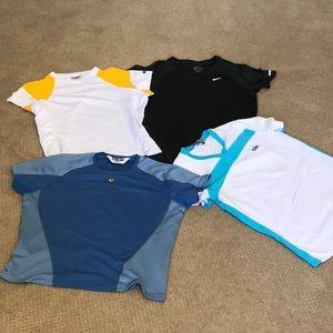 Nike, Pearl Izumi, BOA Active tops bundle